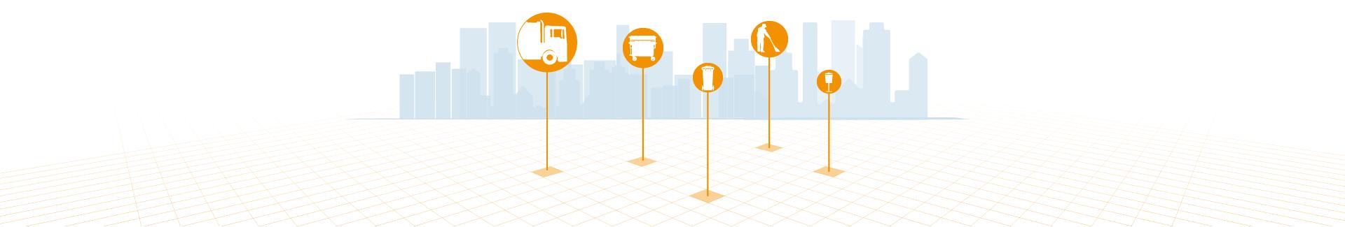 sistema SIG para la gestión de recogida de residuos urbanos - SITEP