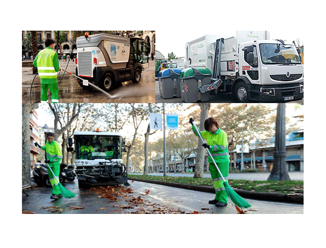 System-geographical-information-management-service-cleaning