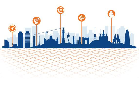 Smart cities GIS
