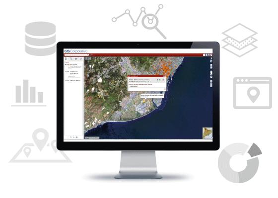 imagen de sistema de informacion geografica de la generalitat de catalunya desarrollado por Sitep