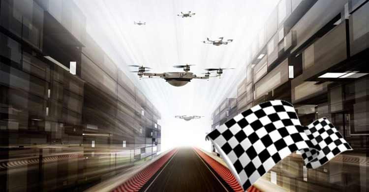 Carreras de drones - SITEP