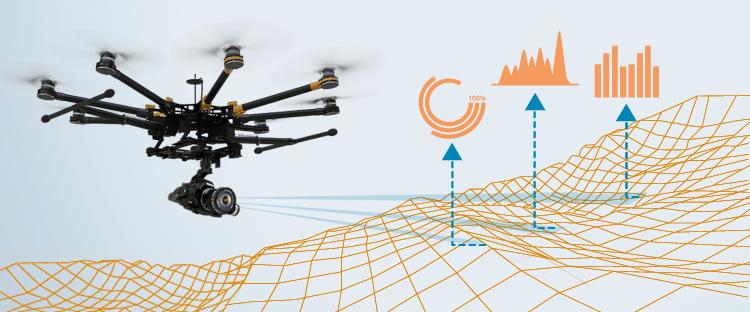 Sistema de captación de datos con dron - SITEP