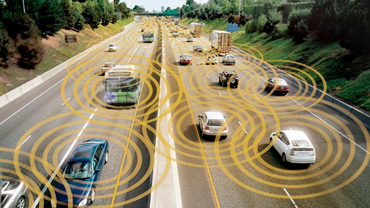 Sistema inteligente de gestión del tráfico, mediante la red móvil