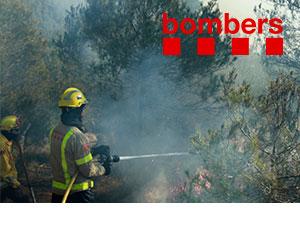 imagen articulo en BLOG de Bombers del GRAF USO DRONES en incendios, SITEP especialistas