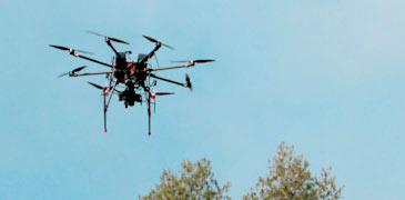 Captura datos con dron para sistemas de información geográfica