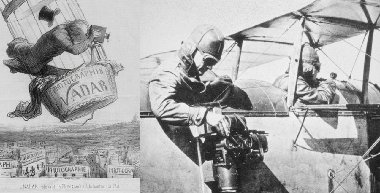El origen de la fotografía aérea - Mobile Mapping SITEP SIG
