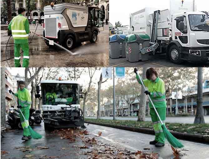 solución para la limpieza y recolección de sólidos urbanos - Software de gestión sobre recorridos