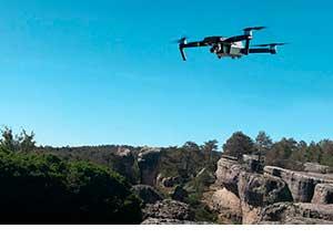 imagen de dron para patrimonio cultural