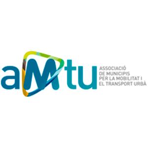 logotip Associació de municipis per la Mobilitat i el Transport Urbà