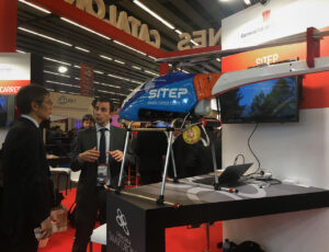 Smart drone - SITEP en el Barcelona Mobile World Congress 2019