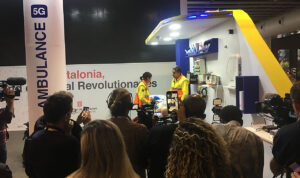 5G ambulacia presentada Barcelona Mobile World Congress 2019