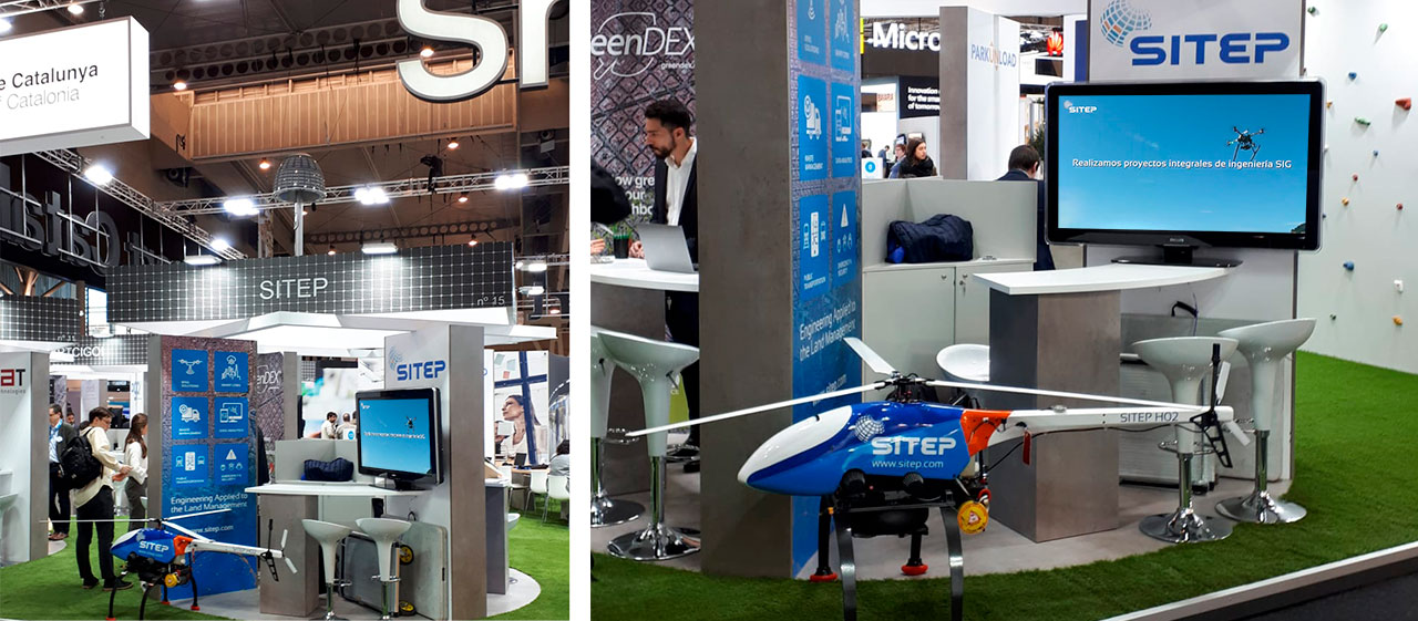 smart cities congress - barcelona SITEP engineering delevopement - mobile mapping
