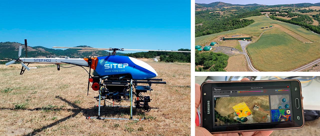 BCN drone center - prueba transmision 5G drone anti incendios