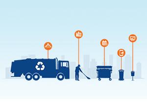 Imagen que representa los recursos humanos y materiales que se necesitan para el servicio de limpieza